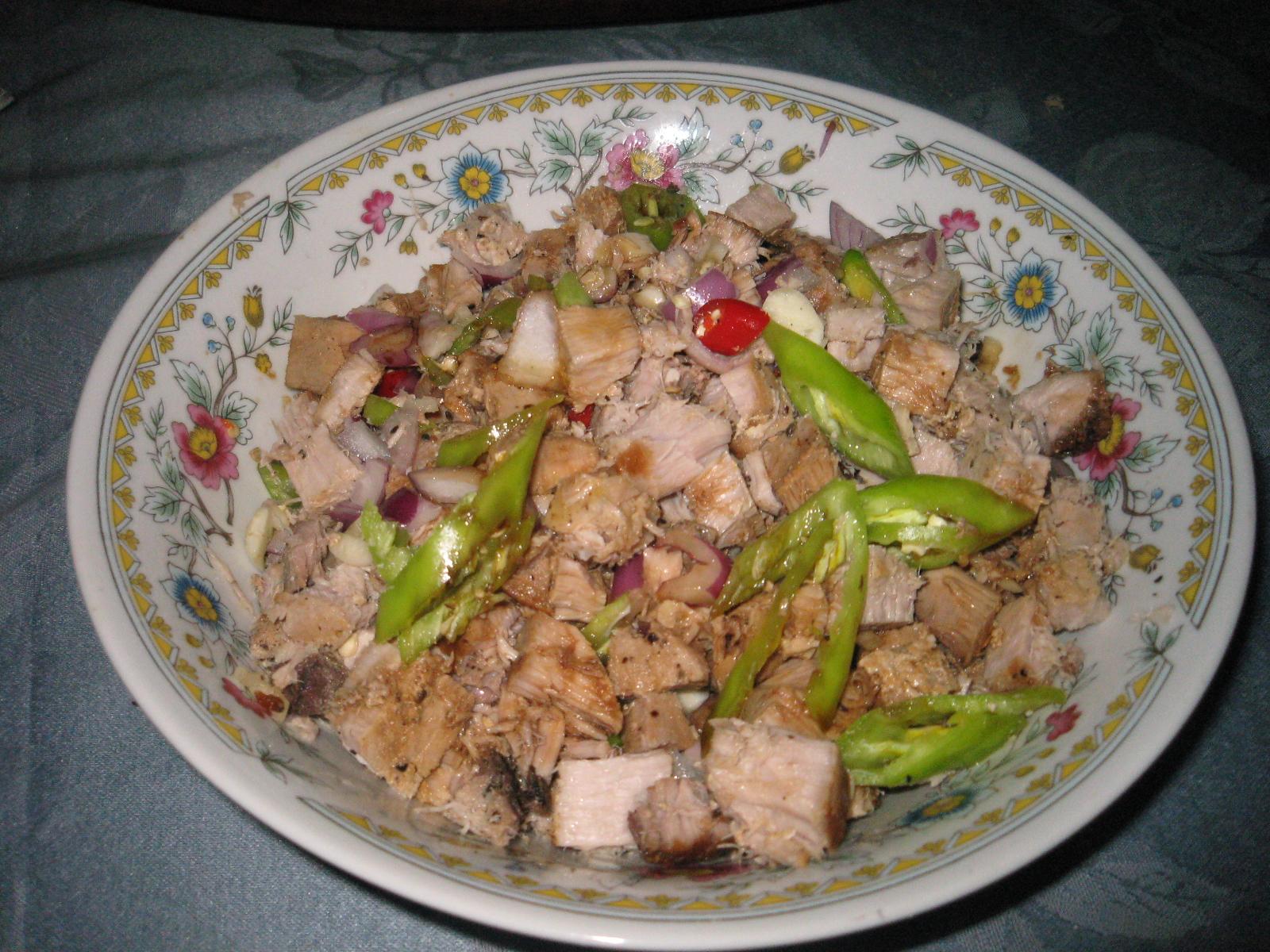 how to make tuna sisig