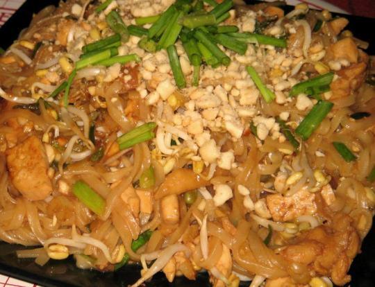 home-made pad thai