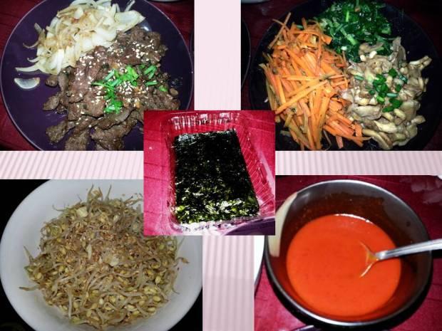 bibimbap ingredients