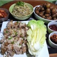 Bossam and Banchan - A Delightful Korean Feast